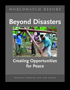 Beyond Disasters - Worldwatch Institute