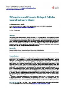Bifurcation and Chaos in Delayed Cellular Neural ... - Semantic Scholar