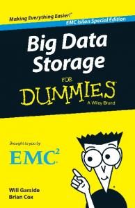 Big Data Storage For Dummies®, EMC Isilon Special Edition