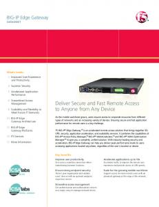 BIG-IP Application Security Manager | F5 Product Datasheet