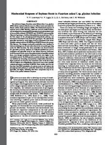 Biochemical Response of Soybean Roots to ... - PubAg - USDA