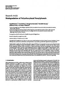 Migration of Nonylphenols from Polymer Packaging Materials into