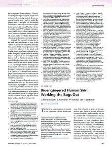 Bioengineered Human Skin - Semantic Scholar