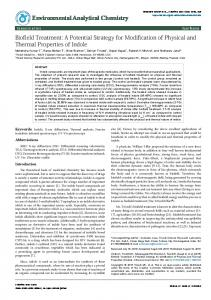 Biofield Treatment: A Potential Strategy for Modification of Physical ...
