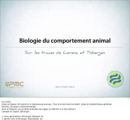Biologie du comportement animal