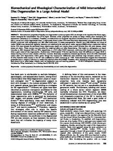 Biomechanical and rheological characterization ... - Wiley Online Library