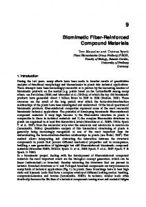 Biomimetic Fiber-Reinforced Compound Materials