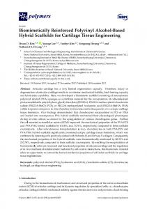 Biomimetically Reinforced Polyvinyl Alcohol