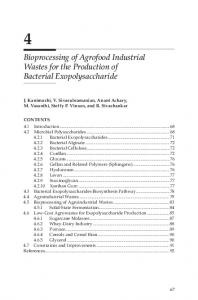Bioprocessing of Agrofood Industrial Wastes for the