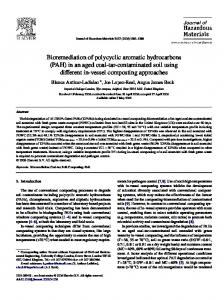 Bioremediation of polycyclic aromatic hydrocarbons
