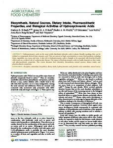 Biosynthesis, Natural Sources, Dietary Intake, Pharmacokinetic