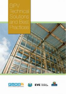 BIPV technical solutions and best practices. PURE project, IEE ... - pvtrin