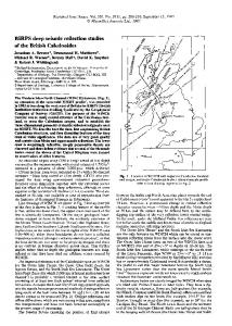 BIRPS deep seismic reflection studies of the British ... - David Smythe
