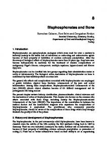 Bisphosphonates and Bone