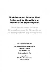 Block-Structured Adaptive Mesh Refinement for