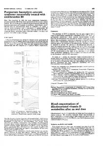 Blood concentrations of dihydroxylated vitamin D - Europe PMC