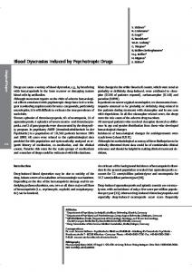 Blood Dyscrasias Induced by Psychotropic Drugs - UiO