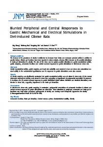 Blunted Peripheral and Central Responses to ... - Semantic Scholar
