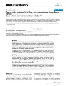 BMC Psychiatry - BioMedSearch