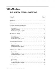 BMW Bus System defined (PDF)
