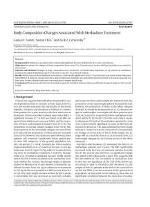 Body Composition Changes Associated With ... - Semantic Scholar