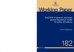 BoGGEM: A dynamic stochastic general equilibrium model for policy ...