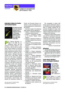 Book News - IEEE Xplore