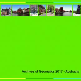book of abstracts geomatics 2017