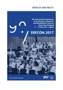 Book of Abstracts - the ERFCON 2017 - UniZG