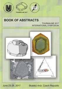 Book of abstracts - Tourmaline 2017