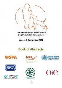 Book of Abstracts - Zoonosis.unam