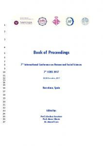 Book of Proceedings