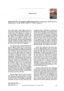 Book Review - Brill Online Books and Journals