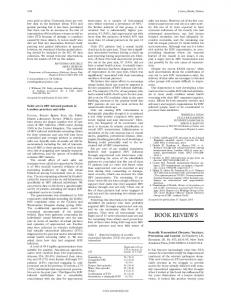 BOOK REVIEWS - Europe PMC
