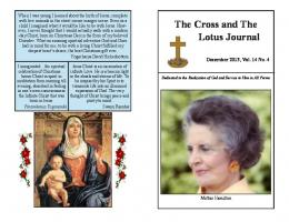 Booklet Version for Printing - The Cross and the Lotus