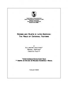 Booms and Busts in Latin America: The Role of ... - Papers.ssrn.com