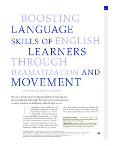 Boosting Language Skills of English Learners ... - Wiley Online Library