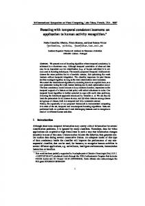 Boosting with temporal consistent learners: an application to ... - VisLab