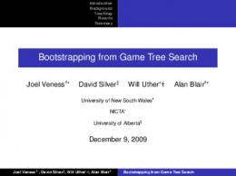 Bootstrapping from Game Tree Search - Semantic Scholar