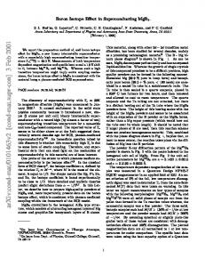 Boron Isotope Effect in Superconducting MgB $ _2$