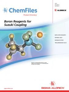 Boron Reagents for Suzuki Coupling