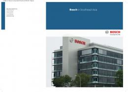 Bosch in Southeast Asia