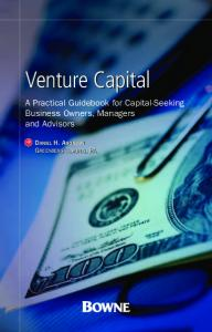 Bowne Venture Capital Guidebook - socalTECH.com