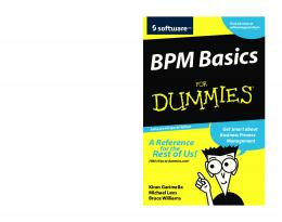 BPM Basics For Dummies, Software AG Special Edition