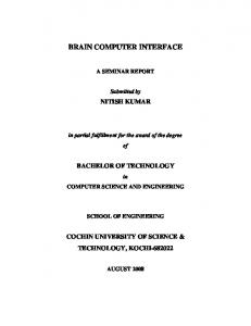 Brain computer interface.pdf - DSpace at CUSAT - Cochin University ...
