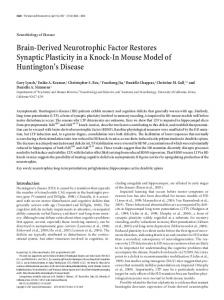 Brain-Derived Neurotrophic Factor Restores ... - Semantic Scholar