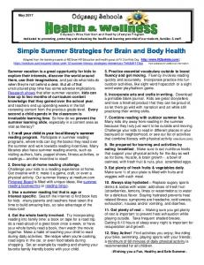 Brain Gym Exercises ~Wishing you Healthy and Happy Holidays~