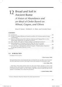 Bread and Soil in Ancient Rome