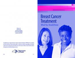 BREAST CANCER TREATMENT – WHAT YOU SHOULD KNOW ...