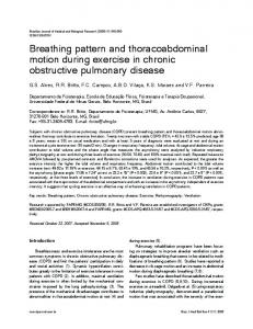 Breathing pattern and thoracoabdominal motion ... - Semantic Scholar